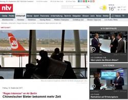 Finanzen.net Mehrere Bieter für insolvente Air Berlin_klein
