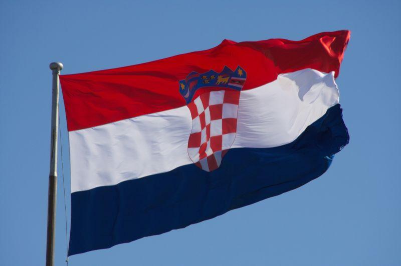 Naujoks beim Empfang in kroatischer Botschaft