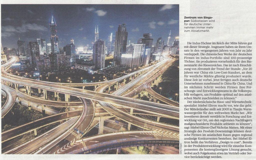 Handelsblatt: Chance des asiatischen Markts - Seite 2