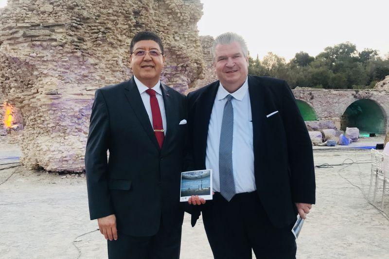 United Nations lädt Naujoks zu einem Konzert / Gala in Tunis ein