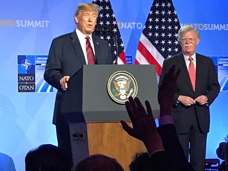 Naujoks zu Gast beim Nato-Gipfel 2018